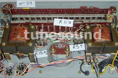 Jackson 648 calibration controls