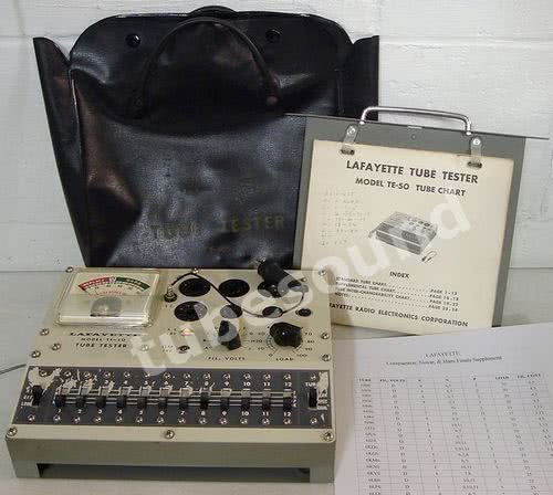 TubeSound » Blog Archive » Lafayette Tube Tester