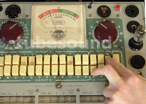 Hickok Tube Tester. conductance tube tester)