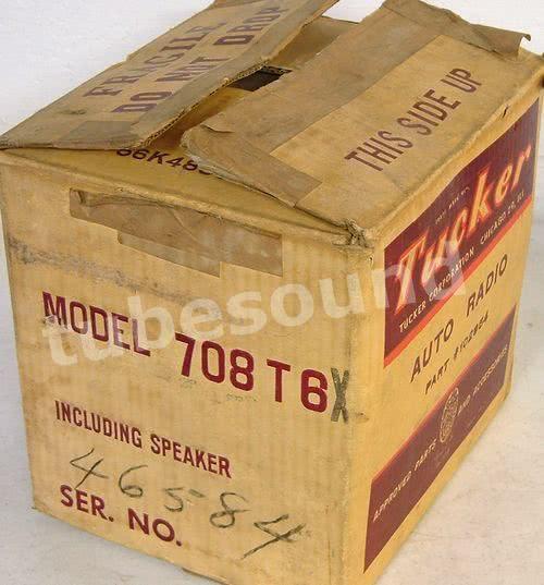 Tucker Torpedo radio - part serial number