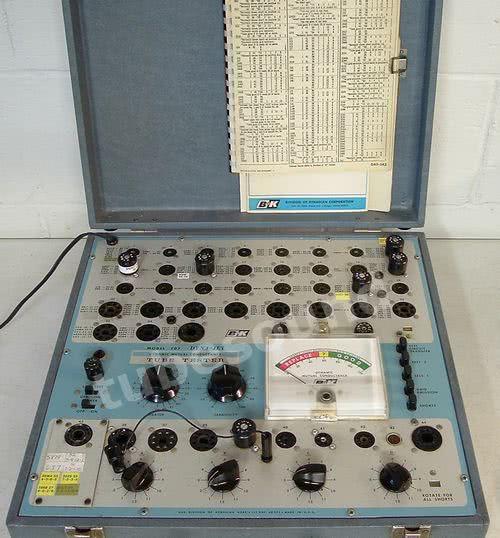 View topic - B K model 7tube tester An Watt in every home