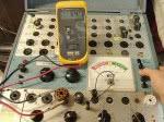 BK707 Emission test VAC, no load