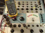 BK707 Switch section Shorts Test AC voltage with tube undergoing testing