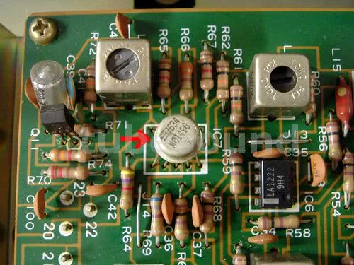 Defective MC1496 IC