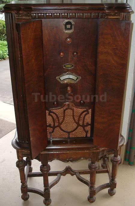 Kennedy Model 62ls Console Radio