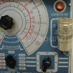 Leaky NOS electrolytic capacitor
