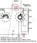 Knight KG-670 circuit modification to achieve accurate faceplate voltages