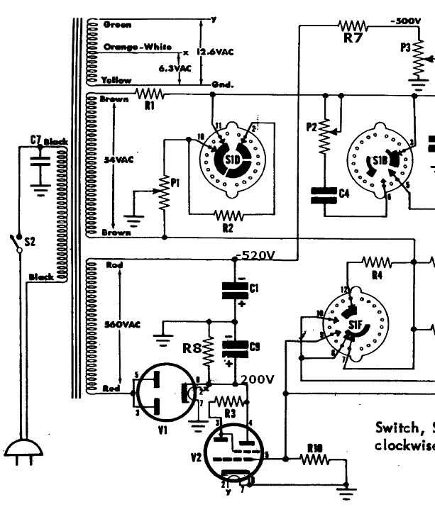 Eico Capacitor Tester Schematic Fender Schematic Elsavadorla