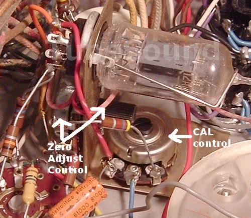 Calibration controls