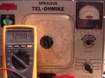 TO-3 accurate leakage test voltage (0-150v scale)