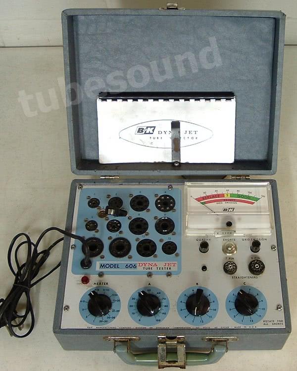 Bk model 7tube tester