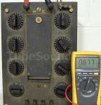 Fluke 179 testing 876-ohms