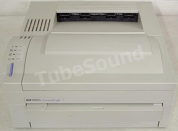 TubeSound » Blog Archive » HP Laserjet 4L – 4P refurb and repair