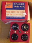 RSP-1 replaceable socket plate