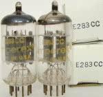 12AX7A tubes - incorrectly factory marked as E283CC